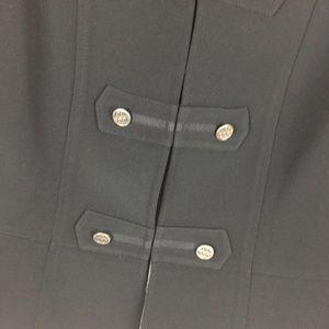 Tahari Jackets & Coats - Tahari 2 Blazer Black Military Long Sleeve Jacket